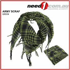SCARF MILITARY GREEN ARAB SHEMAGH KEFFLYEH SHAWL