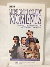 MORE GREAT COMEDY MOMENTS ~ FRENCH & SAUNDERS, RIK MAYALL++++ ~  RARE VHS VIDEO