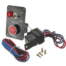 12V CAR RACING PUSH BUTTON START STARTER IGNITION SWITCH PANEL ALUMINIUM uk