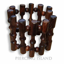 Sono Kokosnuss Holz Armband Handarbeit Design B046