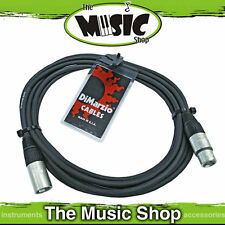 New Dimarzio 20ft XLR Microphone Cable - USA Made Premium Mic Lead - EP2620