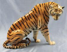 Tiger arthur Storch porzellan schwarzburger volkstedt porzellanfigur 1920 figur
