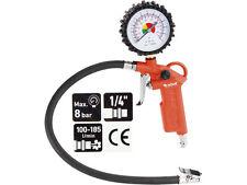 Reifenfüllpistole 0-12 BAR Luftdruckprüfer Reifenfüller mit 425mm Schlauch