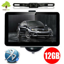 "7"" 12GB Bluetooth Reverse Camera Car GPS Navigation Navigator System AU EU Maps"