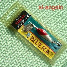 Rapala Vibrax Blue Fox Wobbler Minnow Spin 5g Gr.1, RH, Spinner, Kunstköder