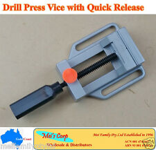 Drill Press Vice with Quick Release, Bench Vice Clamp, Milling Metalwork