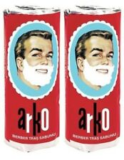 ARKO TURKISH SHAVING CREAM SOAP STICK 75 GRAMS EACH x 2 PIECES