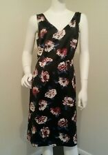 Ladies Beautiful Floral dress size 14 dress formal races wedding office work