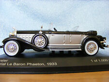 Chrysler Imperial Le Baron Phaeton Whitebox Product in 1:43rd. Scale