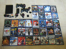 Playstation 2 Slim Konsole mit 10 Gratis Spiele + 2 Controller + MC PS2 PS 2