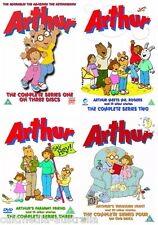 ARTHUR COMPLETE SEASON 1 2 3 4 COLLECTION INCLUDES 130 EPISODES NEW 7 DVD R4