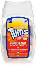Tums Assorted Fruit Antacid Tablets 75 Pack- Relief From Indigestion,Heartburn