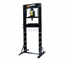 FoxHunter 12 Ton Tonne Hydraulic Garage Workshop Shop Press Floor Standing Black