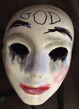The Purge Anarchie 1 2 3 Style Maske Halloween Kostüm Horror Gut