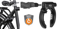 AXA Solid PLUS Bicycle Frame Lock WITH Axa Newton PI150 Plug-in Cable Extension