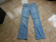 H1685 Levis 572 BOOTCUT Jeans W28 Hellblau ohne Muster
