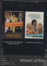 Atomic Kitten - Greatest Hits Live / Be with us  2-DVD BOX   NEU&OVP!