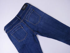 SABA STRETCH SLIM STONEWASH LADIES BLUE DENIM JEANS SIZE 28 AUTHENTIC B-200