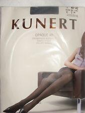 2 Kunert Opaque 40 black,schwarz melange Gr. II 40-42,blickdicht,4005074
