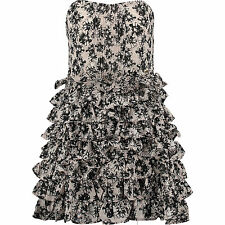 New Miss Sixty Floral Frill Dress Size M   RRP 118€
