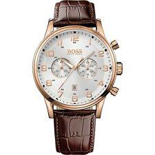HUGO BOSS Aeroliner Chronograph 1512921 Chronograph, HBAERIR, Herrenuhr, NEU+OVP