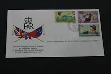 WESTERN SAMOA 1977 QE2 SILVER JUBILEE ON SCARCE ROYAL SOCIETY FIRST DAY COVER