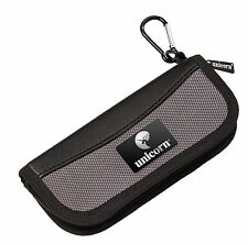 UNICORN PRO MIDI BLACK DARTS CASE WALLET - Small and Compact - Black