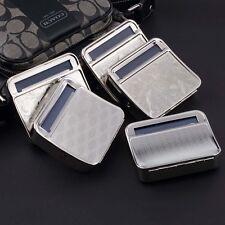 Metal Automatic Cigarette Tobacco Roller Roll Rolling Machine Box Case Tin SN