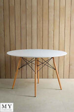 Eames Style Round Dining Table