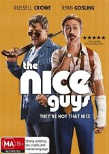 THE NICE GUYS with Russell Crowe, DVD, NEW & SEALED, REGION 4. FREE POSTAGE.
