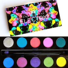 New!! Urban Decay ELECTRIC Pressed Pigment Eyeshadow Palette - Limited Edition