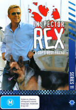 INSPECTOR REX - SERIES 11 (3 DVD SET) BRAND NEW!!! SEALED!!!