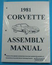 1981 Corvette Assembly Manual