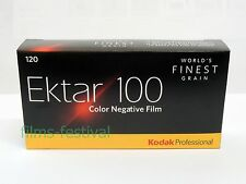 5 rolls KODAK EKTAR 100 120 Color Negative Film Medium Format