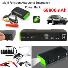 68800mAh Portable Power Bank Car Jump Starter 12V Pack Booster Charger Battery