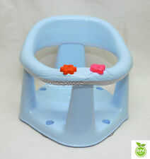 3 In 1 Baby Bath Dining & Activity Play Seat Kids Tub Ring Seat Chair Sky Blue