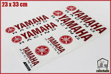 Yamaha Motorsport Aufkleber Racing Set für Motorrad Auto Rot #24