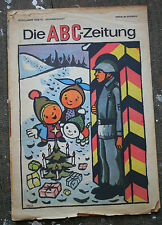 DDR Die ABC Zeitung 1969 Dez. FDJ Junge Pioniere GDR Weihnachten Geschenk