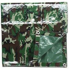Abdeckplane camouflage / Tarnfarbe Größe 300 x 500 cm