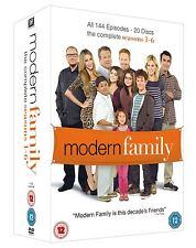 MODERN FAMILY COMPLETE SERIES SEASON 1 2 3 4 5 6 DVD BOXSET 1-6 R4 HOT DEAL!