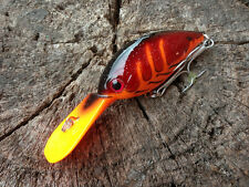 Bass Deep Diving Crank Barra Cod Jack Perch Fishing lure lures Free Post!