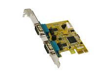 Exsys EX-44042-2 - PCI-Express Karte 2x Seriell RS-232