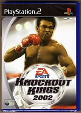 PS2 Knockout Kings 2002, UK Pal, Brand New & Sony Factory Sealed