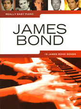 Really Easy Piano: James Bond Noten für Klavier leicht