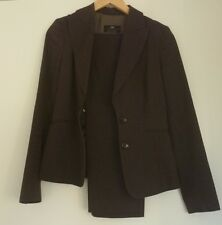 CUE Suit Jacket 6 Pant 8 - Corporate Work - Grey - Good condition - Cotton Wool