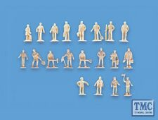 5156 Modelscene N Gauge Assorted Unpainted Figures set A Pack of 20
