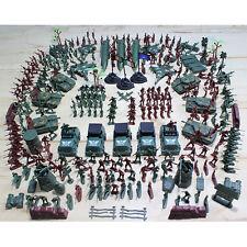 307 Pcs/sett Soldier Kit Grenade Tank Aircraft Rocket Army Men Sand Scene Model