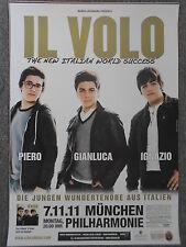 IL VOLO 2011 MÜNCHEN   orig.Concert-Konzert-Tour-Poster-Plakat DIN A1
