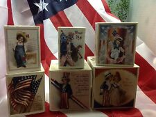 Bethany Lowe Fourth Of July Liberty Nesting Boxes