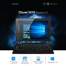 "Chuwi Hi10 10.1"" 64GB+4GB Windows 10 Tablet PC Android 5.1 Quad Core Ultrabook"